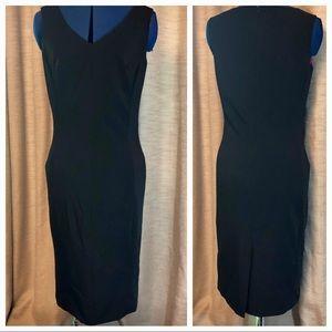 Isaac Mizrahi | Black Sheath Dress  6